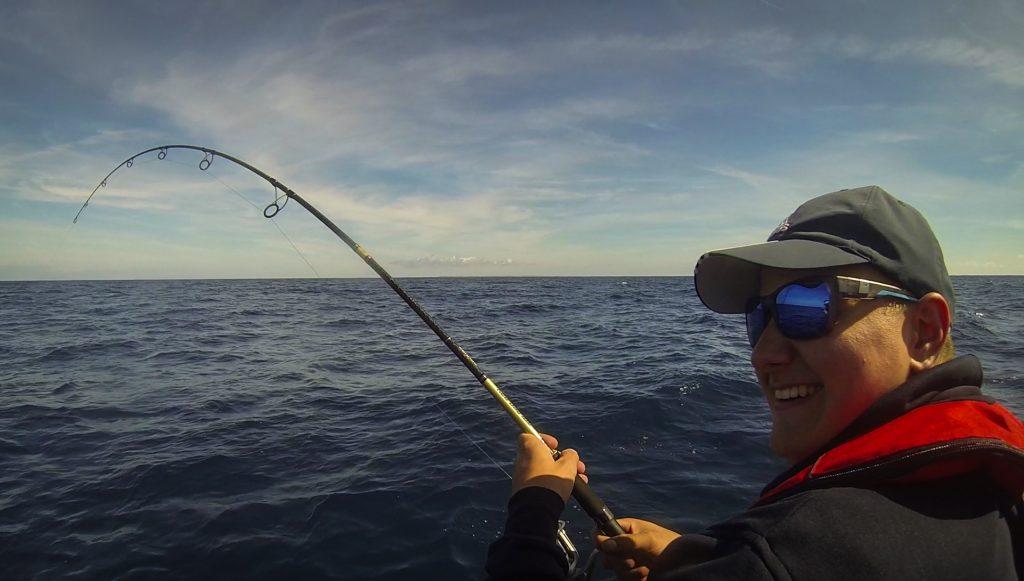 pêche au requin peau bleue en Bretagne Sud